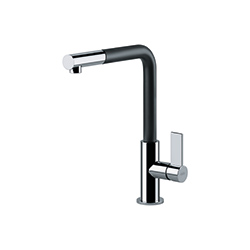 Neptune | Pull Out Nozzle | Chrome-Black | Taps