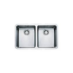 Kubus | KBX 120 34-34 | Stainless Steel | Sinks