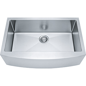Kinetic | FFS33B-10-18 | SilkSteel | Sinks