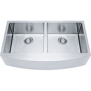 Kinetic | FFD33B-9-18 | SilkSteel | Sinks