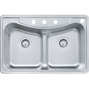 Kinetic | FBFG904BX | SilkSteel | Sinks