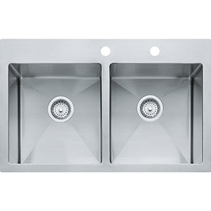Vector | HF3322-2 | SilkSteel | Sinks