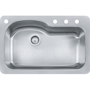 Kinetic | FBSLD904-18BX | Stainless Steel | Sinks