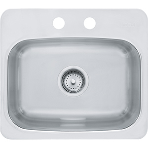 Axis | BMSK802 | Mirror-SilkSteel | Sinks