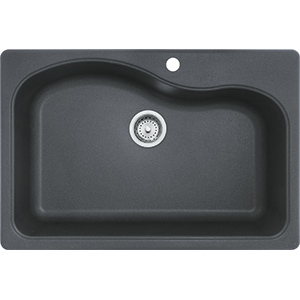 Gravity | SGR3322-1 | Granite Graphite | Sinks