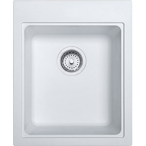 Quantum | SZPW1720-1 | Fragranite Pure White | Sinks