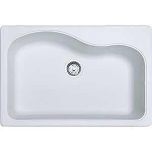 Gravity | SP3322-1 | Granite White | Sinks