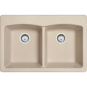 Ellipse | EDCH33229-1 | Granite Champagne | Sinks