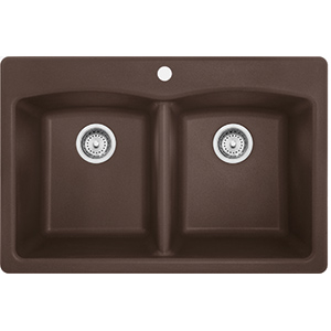 Ellipse | EDDB33229-1 | Granite Mocha | Sinks