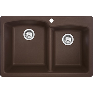 Ellipse | EODB33229-1 | Granite Mocha | Sinks