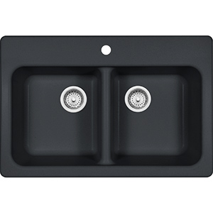Quantum | FPO3322-1 | Granite Onyx | Sinks