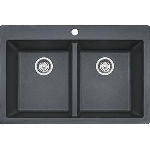 Primo | DIG62D91-GRA | Granite Graphite | Sinks