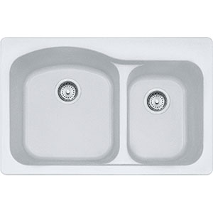 Gravity | DIG62F91-WHT | Fragranite Pure White | Sinks