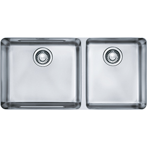 Kubus | KBX120-34 | Stainless Steel | Sinks