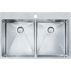 Vector | HF3322-1KIT | Stainless Steel | Sinks