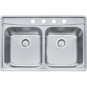 Evolution | EVDCG804-18 | Stainless Steel | Sinks