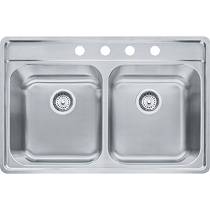 Evolution | EVDAS804-20 | Stainless Steel | Sinks