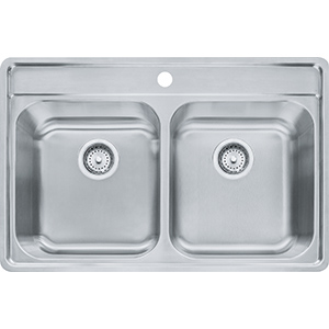 Evolution | EVDAS801-20 | Stainless Steel | Sinks