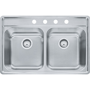 Evolution | EVDAG804-18 | Stainless Steel | Sinks