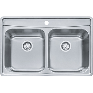 Evolution | EVDCG801-18 | Stainless Steel | Sinks