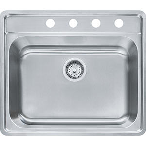 Evolution | EVSAS804-20 | Stainless Steel | Sinks