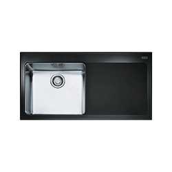 Kubus | KBV 611 | Glass black | Sinks
