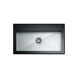 Crystal | CYV 610 | Glass Black | Sinks