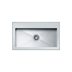 Crystal | CYV 610 | Glass White | Sinks