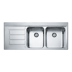 Epos | EOX 221 | Stainless Steel | Sinks