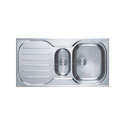 Compact Plus | CRX P 651  | Stainless Steel | Sinks