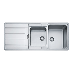 Hydros | HDX 624 | Inox | Eviers
