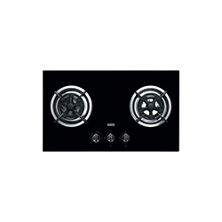 Bi Gas Hob | P0906M | Glass Black | Cooking Hobs