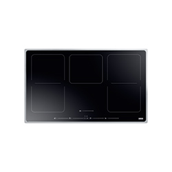 Frames by Franke | FHFS 865 1I 2FLEX ST BK | Stainless Steel-Glass Black | Cooking Hobs