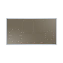 Frames by Franke | FBF INDUCTION 860 X 458 FH FS 864 CH | Stainless Steel-Glass Champagne | Cooking Hobs
