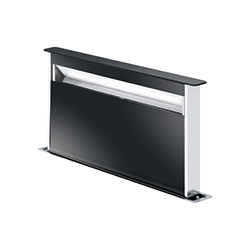 Frames by Franke | DOWNDRAFT FS DW 866 XS BK | Stainless Steel-Glass Black | Hoods