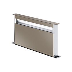 Frames by Franke | DOWNDRAFT FS DW 866 CH | Stainless Steel-Glass Champagne | Hoods