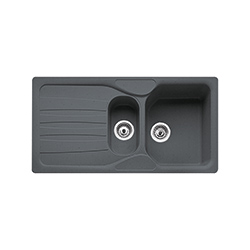 Calypso | COG 651 | Fragranite Graphite | Sinks