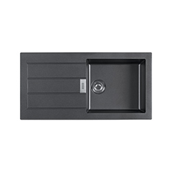 Sirius | SID 611-100 | Tectonite Carbon Black | Sinks