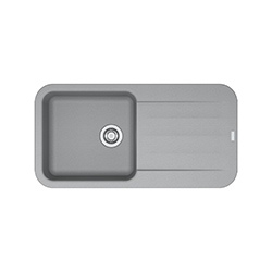 Pebel | PBG 611-97 | Fragranite Stone Grey | Sinks