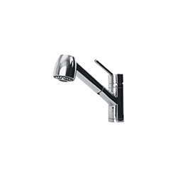 Azimut | Pull Out Spray | Chrome | Taps
