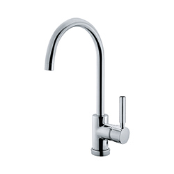 Lula-S | Swivel Spout | Chrome | Taps