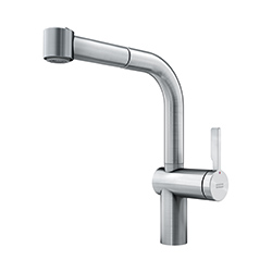 Frames by Franke | SIDE LEVER PULLOUT SPRAY FS SL SW DS | Stainless Steel | Taps