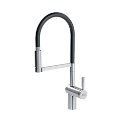 Frames by Franke | SEMI PROFESSIONAL SIDE LEVER SWIVEL SPRAY FS HF SWSP CHR | Chrome | Taps