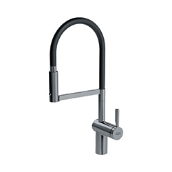 Frames by Franke | SEMI PROFESSIONAL SIDE LEVER SWIVEL SPRAY  FS HF SWSP DS | Decor Steel | Taps