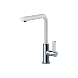 Neptune Evo | Swivel Spout | Chrome-White | Taps