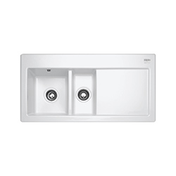 Mythos | MTK 651 | Ceramic White  | Sinks