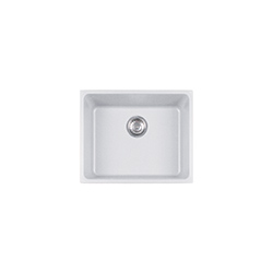 Kubus | KBG 110-50 | Fragranite Pure White | Sinks