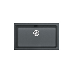 Kubus | KBG 110-74 | Fragranite Graphite | Sinks
