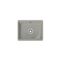 Kubus | KBK 110 50 | Ceramic Pearl Grey Matt | Sinks