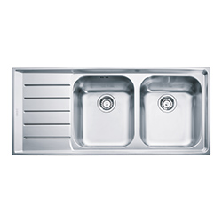 Neptune | NEX 221 | Stainless Steel | Sinks